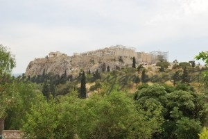 acropolis from Thisio