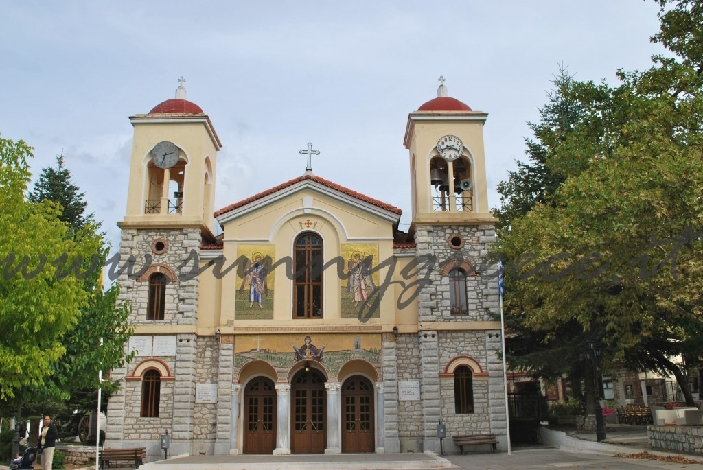 kalvryta-church